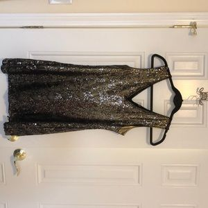 Express size small sequins dress